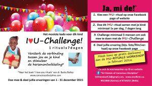 IloveU-challenge flyer